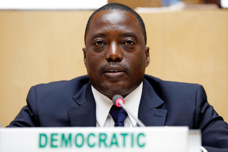 Rais wa DRC Joseph Kabila.