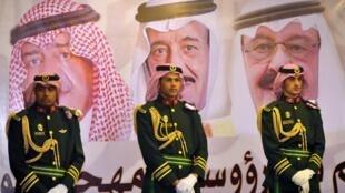 El atacante fue abatido por los guardias reales saudíes (foto).