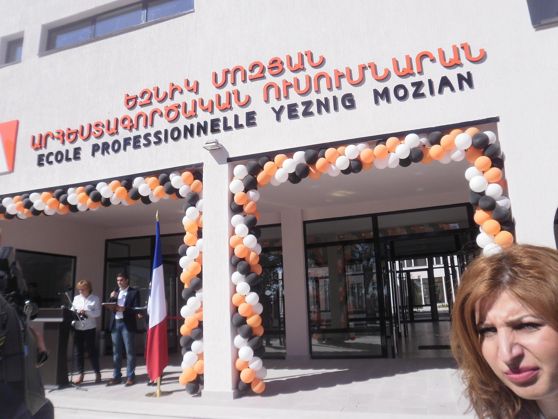 Lycée professionnel Yeznig Mozian à Chouchi.