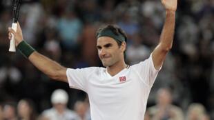PHOTO Roger Federer - Cape Town - Afrique du Sud - 7 février 2020