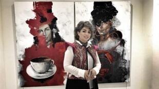 منصوره پناهگر، هنرمند نقاش