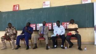 Enregistrement du Débat africain à l'Université Joseph Ki Zerbo de Ouagadougou, le 26/02/19.