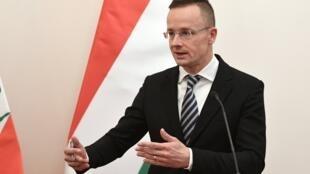 Peter Szijjarto, le chef de la diplomatie hongroise, en novembre 2019.