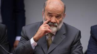 O tesoureiro e o secretário nacional de Finanças do PT, João Vaccari Neto.