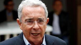 L'ex-président colombien Alvaro Uribe.