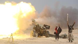 Wapiganaji wanaopigana sambamba na vikosi vya Serikali ya Iraq wakiendeleza mashambulizi kulenga mji wa Fallujah