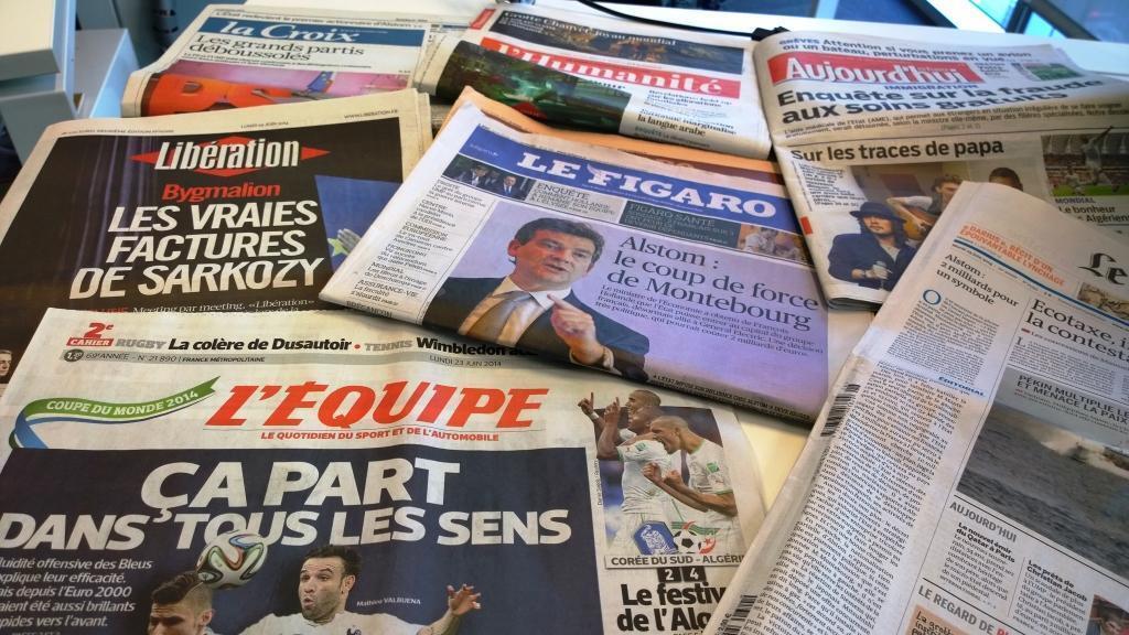 Diários franceses 23/06/2014