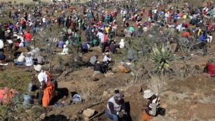Afrique du Sud - diamant - rush - KwaZulu-Natal