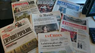 Diários franceses 03.05.2016