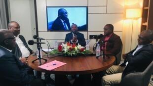 Gouagnon Seri, Mamadou Touré, Méïté Sindou, Ange Dagaret-Dassaud et Alain Foka, Abidjan, mars 2019.