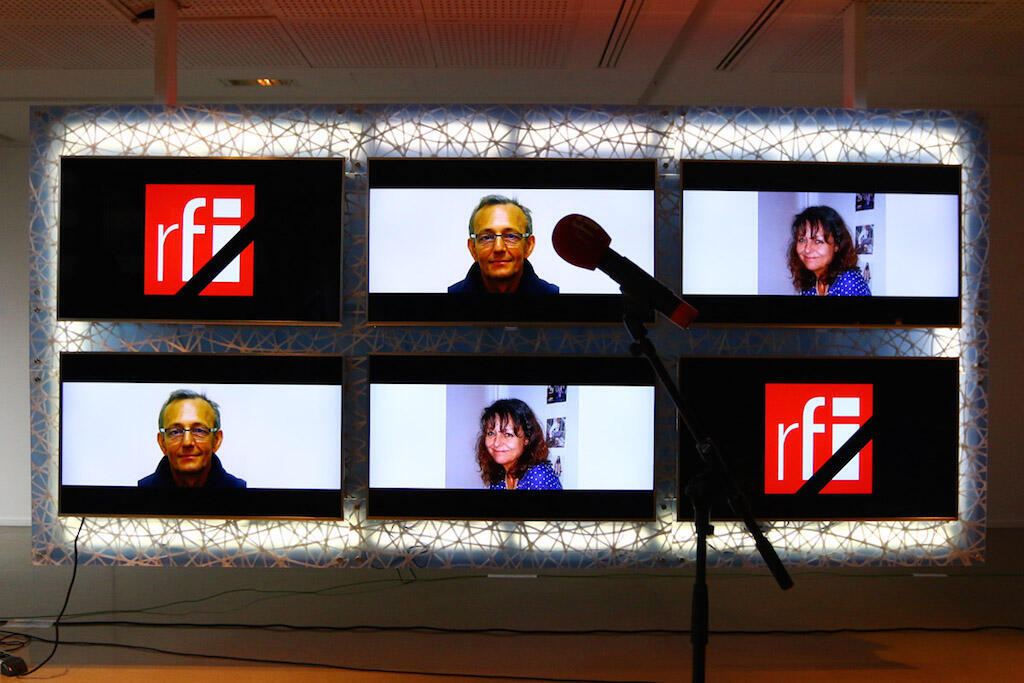 RFI in mourning. Our dead colleagues Ghislaine Dupont and Claude Verlon.