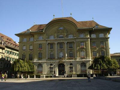Siège de la Banque nationale suisse, à Berne.