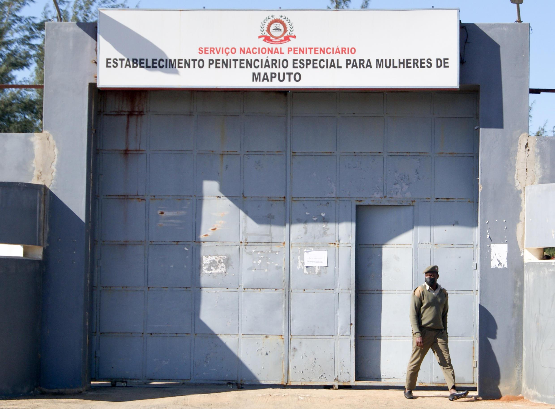 ntrada do Estabelecimento Penitenciário Especial para Mulheres de Maputo, Moçambique, 16 de Junho de 2021.