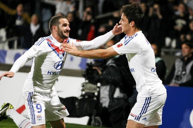 O Lyon garantiu sua classificação para a Liga dos Campeões.
