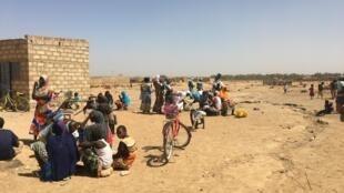 605 déplacés originaires de Silgadji se sont installés il y a 8 mois à Pazani près de Ouagadougou.