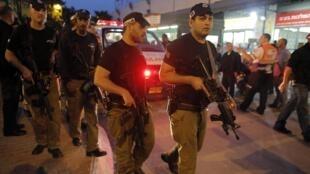 Патруль израильской полиции