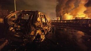 Se trataría de la explosión de refinería más grave en el mundo en los últimos 25 años.