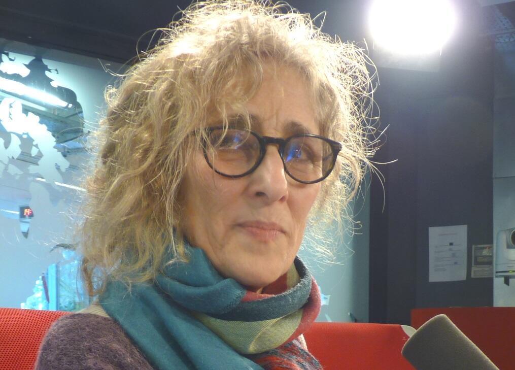 Nora Herman en los estudios de RFI