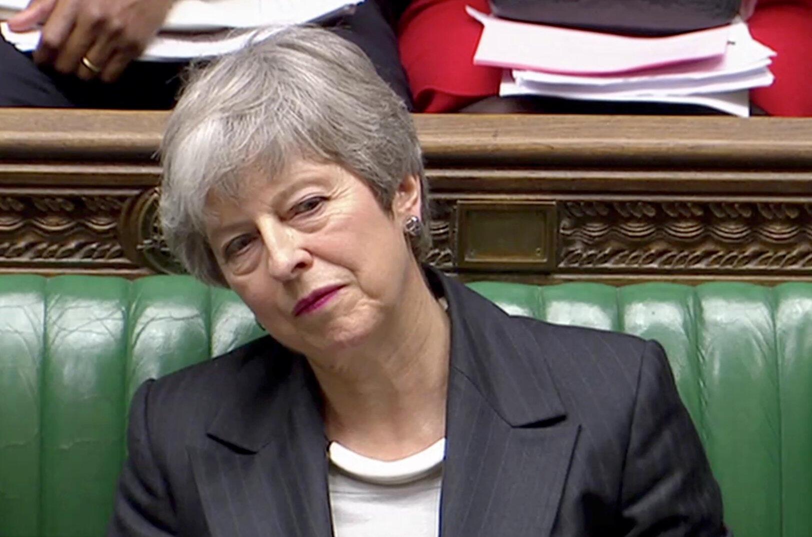 A primeira-ministra britânica Theresa May, pede adiamento até junho da saída do Reino Unido da União europeia