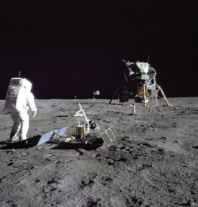 La mission Apollo 11 (29 juillet 1969).