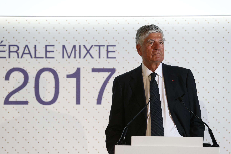 Maurice Levy en 2017.