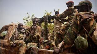 South Sudan troops in Juba