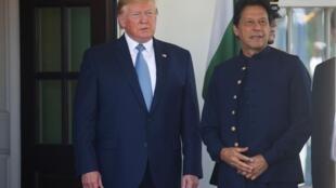 Tổng thống Trump và thủ tướng Pakistan Imran Khan tại Nhà Trắng ngày 22/07/2019.