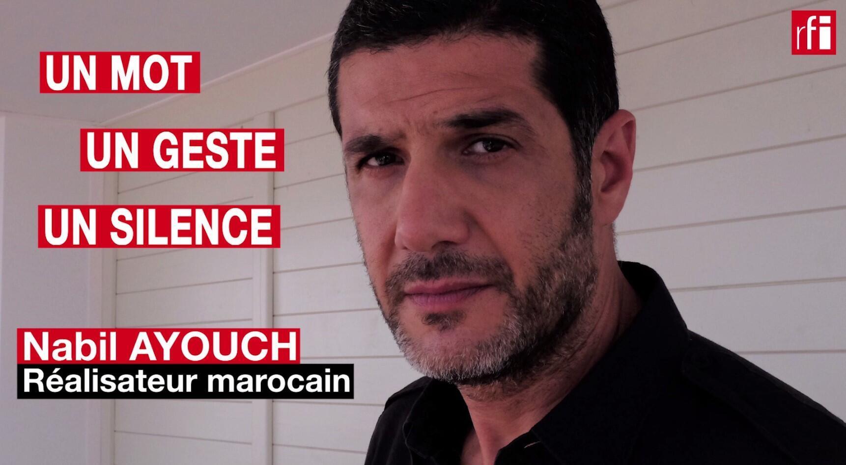 Le cinéaste marocain Nabil Ayouch, réalisateur de « Haut et fort » au Festival de Cannes 2021. © Siegfried Forster / RFI