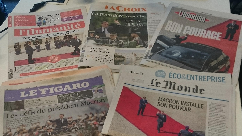 Diários franceses 15.05.2017