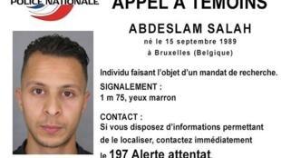 26-летний Салах Абдеслам (Abdeslam Salah) разыскивается по подозрению в причастности к терактам в Париже