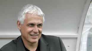 L'entraîneur du TP Mazembe Hubert Velud.