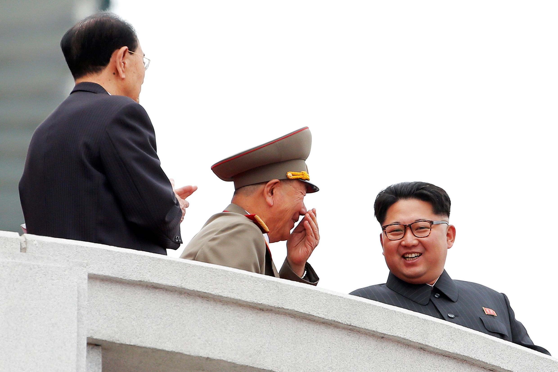 O líder norte-coreano Kim Jong Un