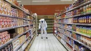 Les supermarchés sénégalais étaient fermés ce mercredi 6 mai pour procéder à des opérations de désinfection.