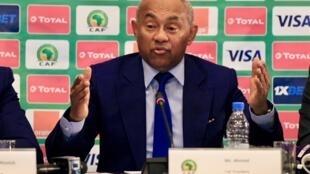 Le Malgache Ahmad Ahmad, président de la CAF.