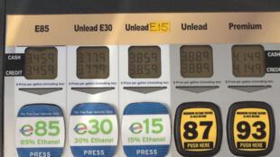 La production d'éthanol à 15%, l'E15, sera à nouveau encouragée par les autorités américaines en 2020.