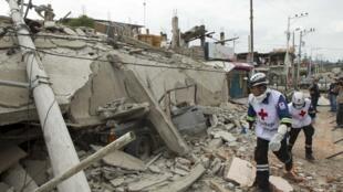 厄瓜多尔海滨城市佩德纳莱斯被7.8级地震彻底摧毁需要重建2016年4月18日