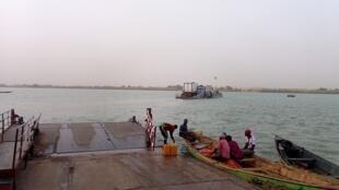 Une jetée à Rosso, côté Mauritanien de la frontière avec le Sénégal sur le fleuve Sénégal (image d'illustration).