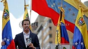 委內瑞拉反對派領導人、國民大會主席胡安·瓜伊多周三自行宣布就任臨時總統。