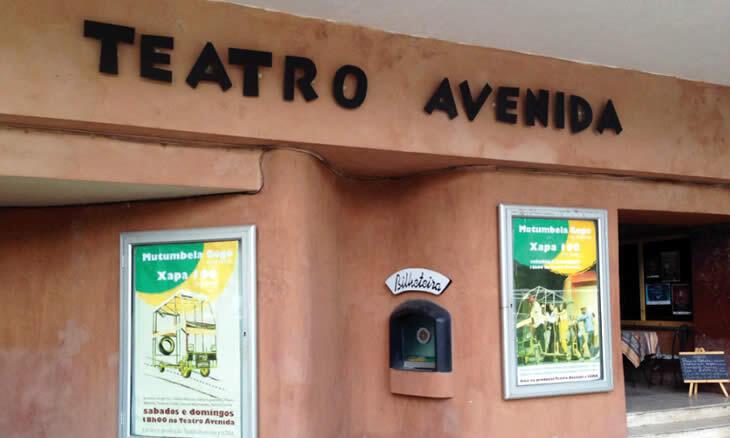 Teatro Avenida em Moçambique