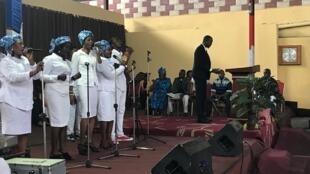 L'église « Image de l'éternel » à Kinshasa.