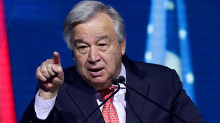 Katibu mkuu wa umoja wa Mataifa, Antonio Guterres.