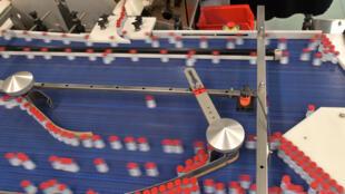 Frascos de la vacuna Moderna contra el coronavirus en una fábrica de Recipharm, en Monts (Francia), el 22 de abril de 2021