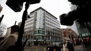 Trụ sở công ty Cambridge Analytica ở Luân Đôn.