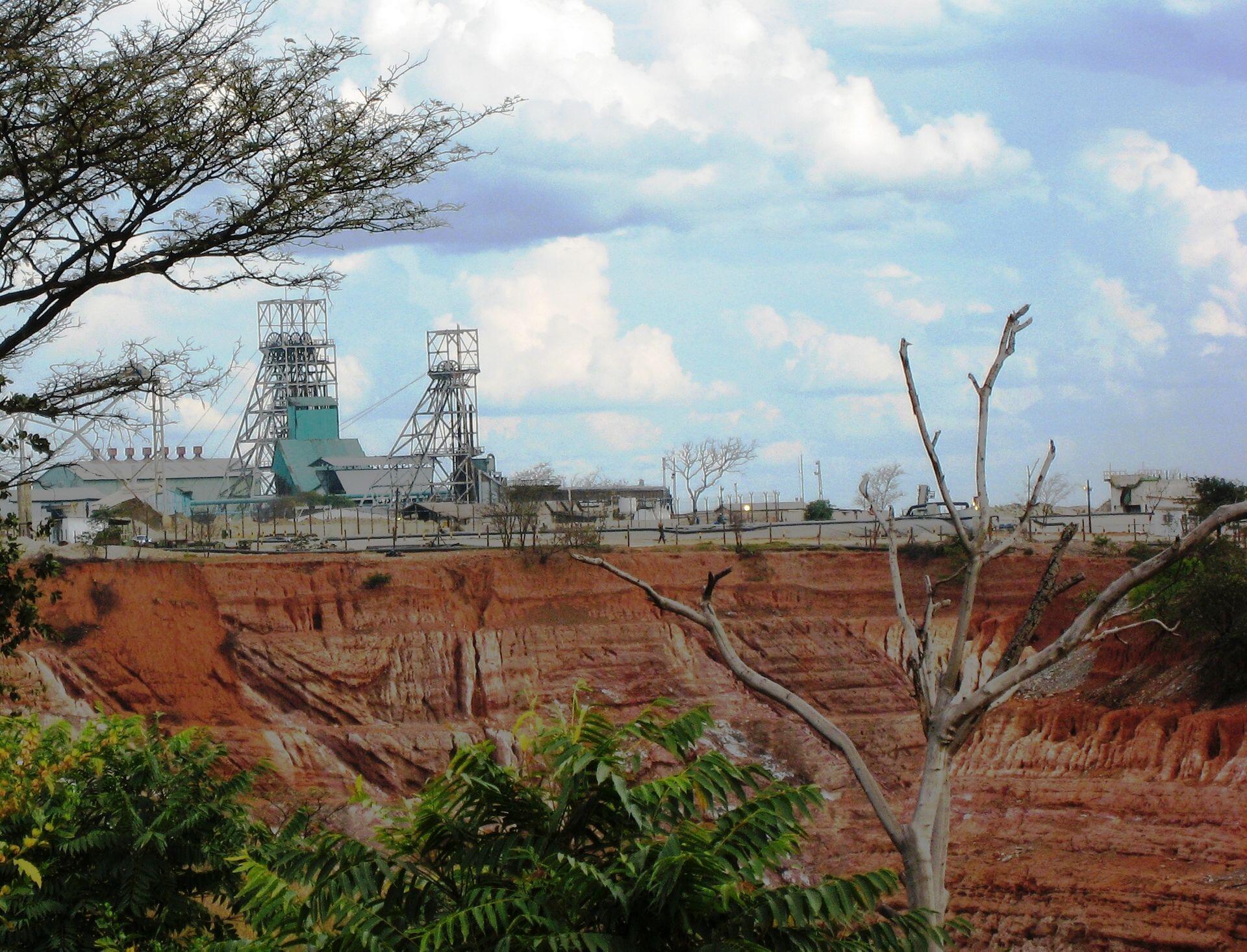 Nkana mine in Kitwe, Zambia.