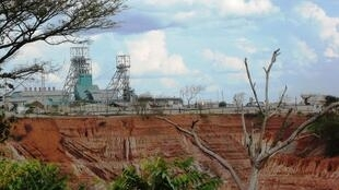 Nkana mine in Kitwe, Zambia.