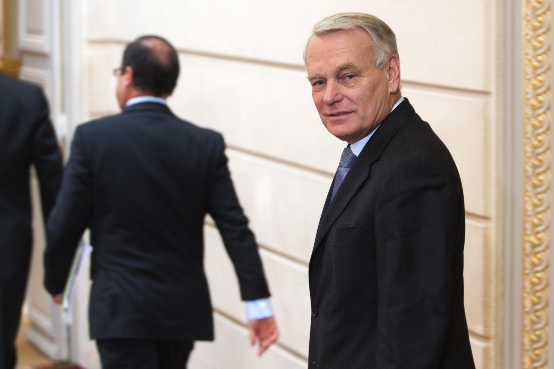 Жан-Марк Эро премьер-министр Франции в Елисейском дворце 30/10/2012