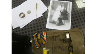 Les objets de la guerre du soldat canadien