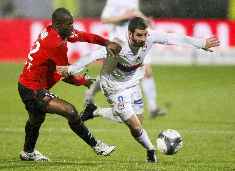 Le Lyonnais Lisandro Lopez (d.).