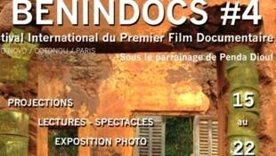 Quatrième édition du festival BéninDocs au Bénin.
