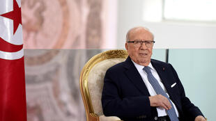 Le président tunisien Béji Caïd Essebsi (photo d'archives, 2016).